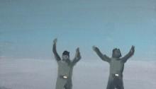 Sépànd DANESH, 1980 Désertion deux soldats sur le toit, 2012