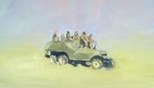 DANESH Sépànd, 1983 Transporteur Irakien Dodge 6x6, 48x57cm, 2011