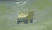 DANESH Sépànd, 1987 Frontière Iran-Irak un jeep banalité, 19x27cm, 2012