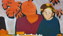 Sépànd DANESH, En 1987 avec Mamie, 25x35cm, 2013