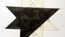 STERN Jean, Etoilement 8, graphite et craie grasse, 66x73cm, 2007