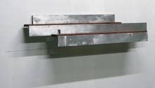STERN Jean, Sans Echelle, 31x142x31cm, techniques mixtes sur aluminium et bois, 2007