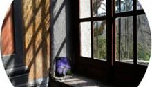 de SOUSA Aurore,  ELLMSP n°7, verre feuilleté, ø39cm. Tir.1/3 2013