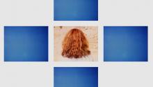A. DE SOUSA, Um dia perfeito bleu, 110x135cm, 2005