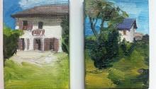J-P. ARDITO, 2 maisons à vendre !, 2x7x5cm, 2011