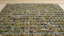 J-P. ARDITO, Maisons à vendre, 7x5cm (825 sur ce mur !), 2010/2013