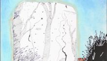 CARBONNE Antoine, Corseul, dessin, 30x20cm. 2012