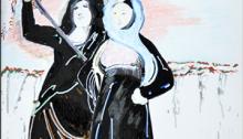 CARBONNE Antoine, en écho à Goya, dessin, 33x27cm. 2012