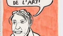WATTS Lucy, Corinne dessin A4, 2013