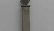 Stéphane VIGNY, 1/3 béton + socle 60x10x10cm, 2007