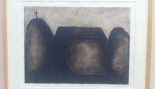 Loïc LE GROUMELLEC, 2, encre/papier canson, 41,5x51,5cm, 1997