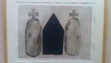 Loïc Le GROUMELLEC, 1, encre/papier canson, 41,5x51,5cm, 1997