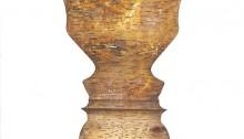 PARK Ido, Human Pattern 10, 22x22cm, dessin peinture huile/gesso, 2013