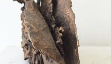 d'ASSIGNIES Isabelle, n°27, bronze fonte à la cire perdue 1/1, 13x17x8cm, fondue à l'atelier, 1992