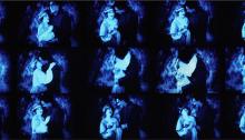 de SOUSA A. Le bleu de la Mer, 90x225cm. Diasec tirage unique + EA