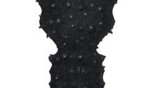 I. PARK, Human Pattern 12, peinture à l'huile sur gesso, 22x22cm, 2013