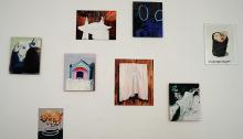 Lise STOUFFLET, 7 peintures 1 dessin, 2014