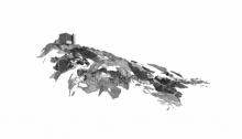 Claire TROTIGNON, Point de vue n°2, sérigraphie/Vélin d'Arches, 63x91,5cm. n°4/8, 2012