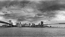 H. ALL, Manhattan and Brooklyn Bridges, Diasec® n°3/5