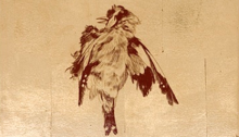 Pierre DAVID, Mésange, 29,5x24x7,5cm, 2005
