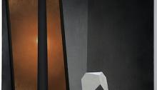 S. DANESH, Éclipse, toile 100x70cm 2014