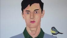 SUBERVILLE Alexandre, Portrait 93x128cm. 2006
