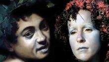 Anne ABOU, série sans nom couple 4, 100x150cm, 2005