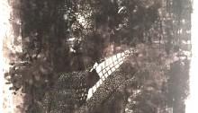 Koffi MENS Léopold Sédar SENGHOR  201x170cm, peinture sur toile, 2016