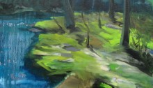 BERNINI R. île, 50x50cm 2007