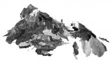 TROTIGNON Cl. Landscape9 Menuiserie PVC, 63 x 91,5cm, n°4/8, 2012
