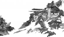 TROTIGNON Cl. Landscape9 Haut Vent panoramique, 63 x 91,5cm, n°4/8, 2012