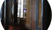 de SOUSA Aurore, ELLMSP n°6, verre feuilleté, ø39cm. Tir.1/3 2013