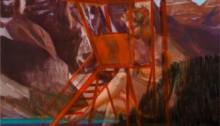 Masmonteil Baigneuse Surveillance Baignade, 65 x 54 cm, 2017