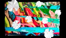 Aussie Flowers, Australie, 100x168cm. Tirage unique sur Dibond® 2018