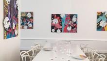 Marc Loustalot, Table 220x100x76cm Ouvertures  2018