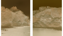 AGNEL Juliette Groenland, 2018 Tirage sur papier mat hanehmuhle ultrasmoooth Contrecollé et Encadré + verre musée