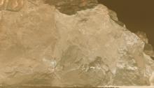 AGNEL Juliette PORTE de GLACE-VI.150x120cm, 2018 Tirage sur papier mat hanehmuhle ultrasmoooth Contrecollé et Encadré + verre musée