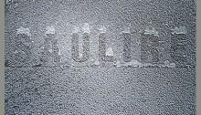 #Givre Saulire 14x14cm cadre noir 30,5x30,5 n°1/12