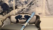 Salon, skis et tenture !