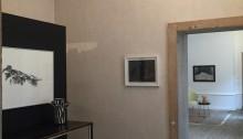 Entrée de l'exposition, Trotignon, Vassal, Saudan au fond