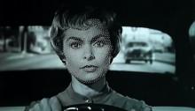 VASSAL Éric Dagyde - Photographie et épingles -d'après Psychose 1960