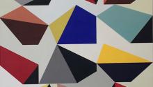 GOTTONI P. Collection 24-12 135x135cm-tempera-sur-toile 2012