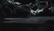 SACRISTE Anne-Laure Le lac huile sur bois, 33 x 41 cm, 2006
