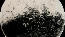 Dourenn Alice Vague, l'appel de la nature profonde Miroitique, tirée par l'artiste Ø 40cm. 2021